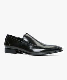 White Dress Shoes Slip on Loafers Leather Lined Free Shoe Horn by