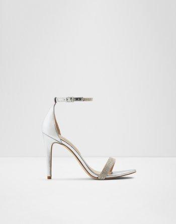알도 ALDO High heel - Stiletto heelAroclya,Silver Synthetic Shiny