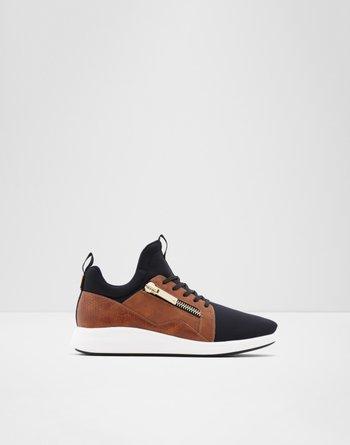 알도 ALDO Sneaker - Jogger soleCaderuschi,Black Textile Neoprene