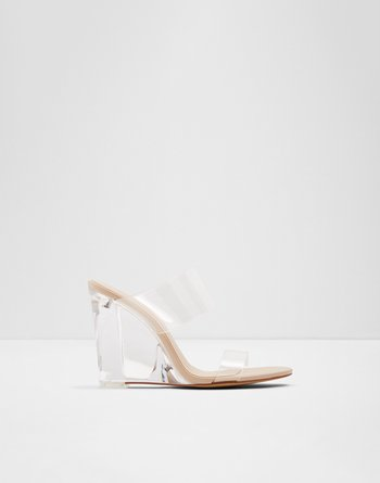알도 ALDO Wedge sandal - Wedge heelClearly,Clear