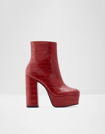 알도 ALDO Ankle boot - Block heelDelarathien,Red