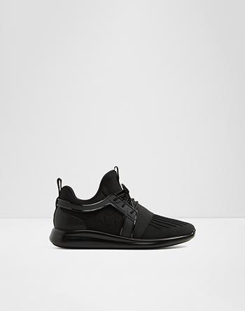 알도 ALDO Sneaker - Jogger soleEderadia,Black Textile Mesh