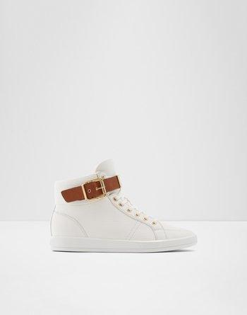 알도 ALDO High top sneakerEdywien,White Synthetic Smooth