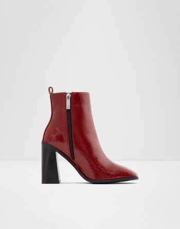 알도 ALDO Ankle boot - Block heelEugenius,Red