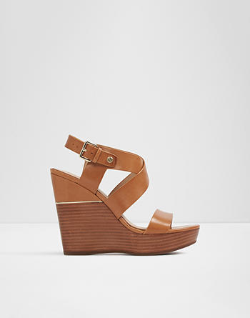 알도 ALDO Wedge sandal - Wedge heelFaustina,Medium Beige
