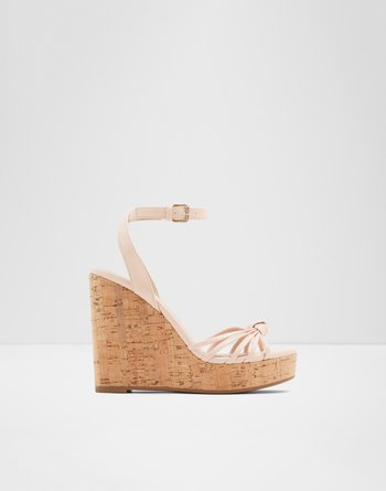 알도 ALDO Wedge sandal - Wedge heelKaoedia,Light Pink