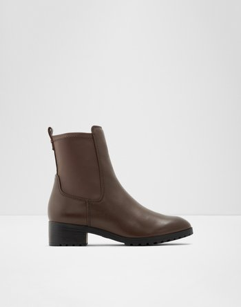 알도 ALDO Ankle boot - Block heelMalinia,Dark Brown