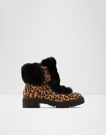 알도 ALDO Ankle boot - Lug soleNarica,Brown Multi