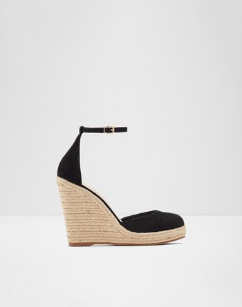 알도 에스파드류 ALDO Espadrilles - Wedge heel Nasua,Black