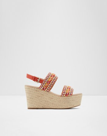 알도 웻지 샌들 ALDO Wedge sandal - Wedge heel Prirasa,Pink