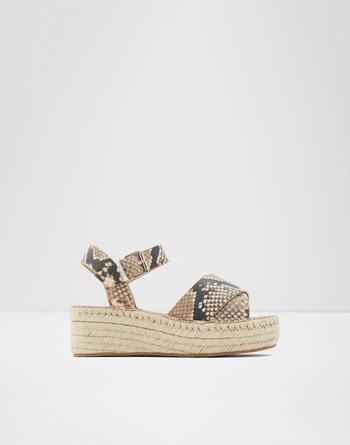 알도 ALDO Wedge sandal - Flatform Tineviel,Natural