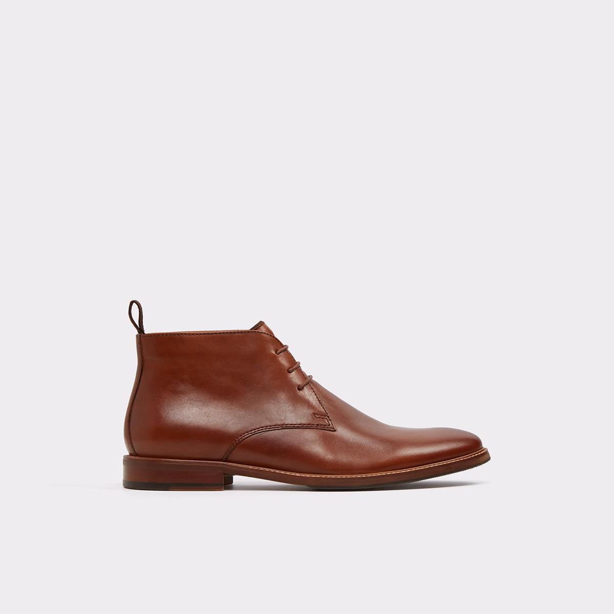Alevia-R Cognac Men's Dress boots | ALDO US at Aldo Shoes in Victor, NY | Tuggl