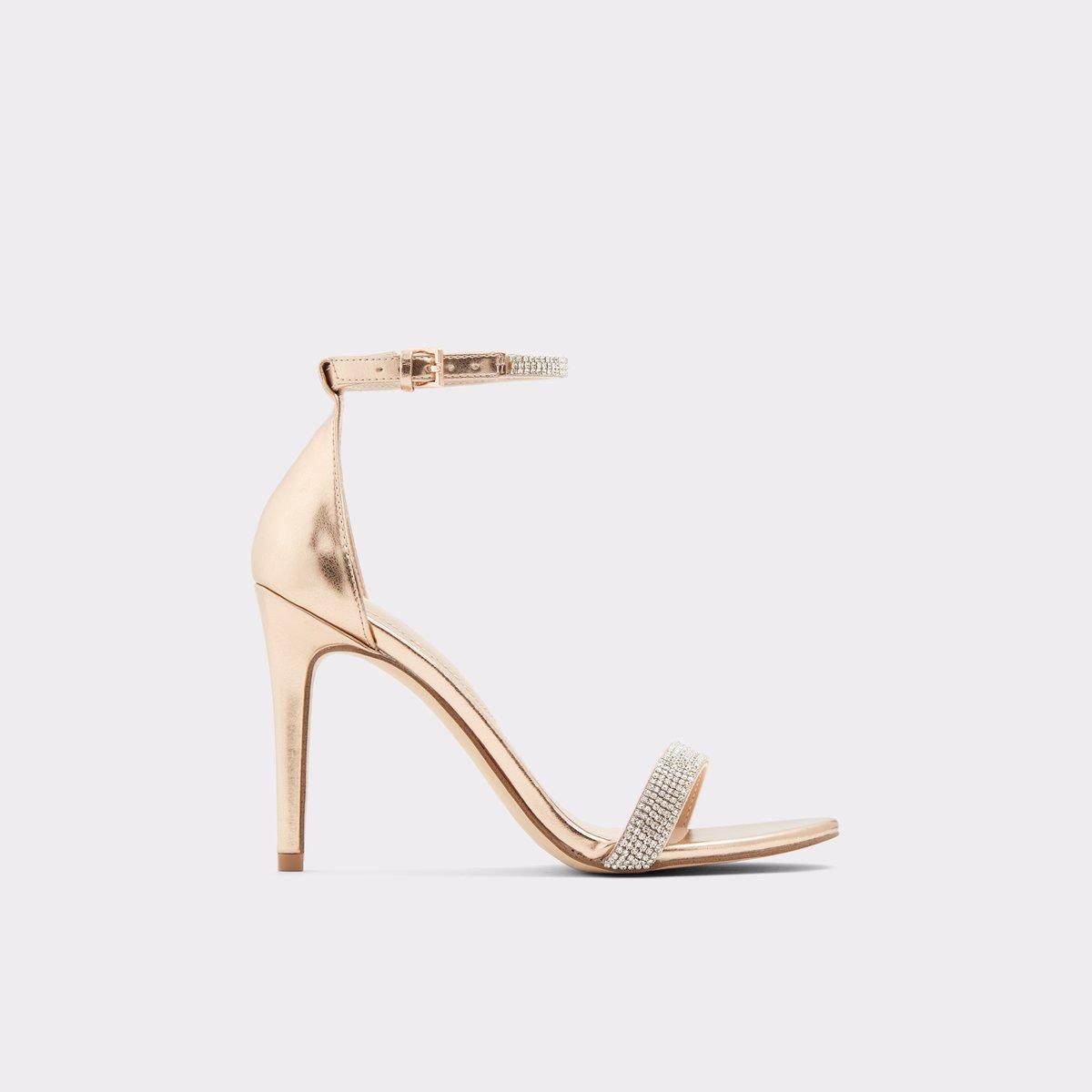 6db1ed49724 Aroclya Metallic Misc. Women s Heeled sandals