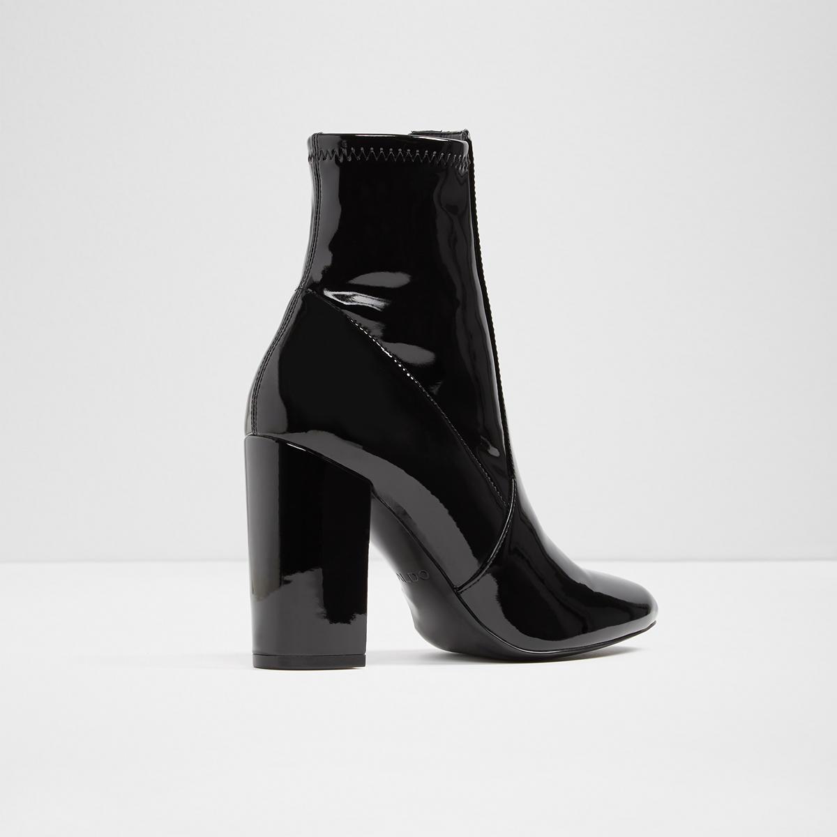 675d7e477a8d Aldo Shoes Womens Patent Leather Heels Color Black Size 9