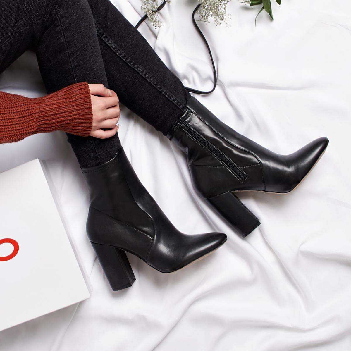 Aurella Black Women S Ankle Boots Aldo Canada