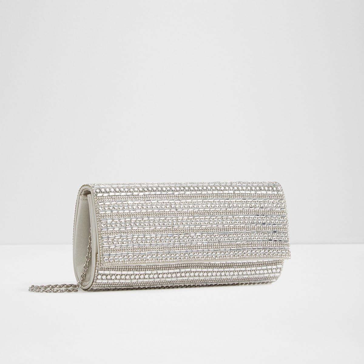 965fcfc68e0 Bascemi Silver Women S Clutches Evening Bags Aldo Canada. Aldo Embellished  Clutch Bag