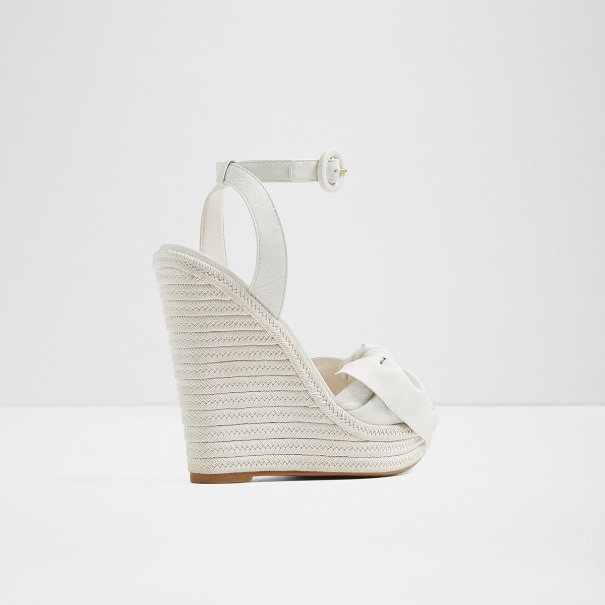 ALDO BESCH - High heeled sandals - white reoHBdQHU