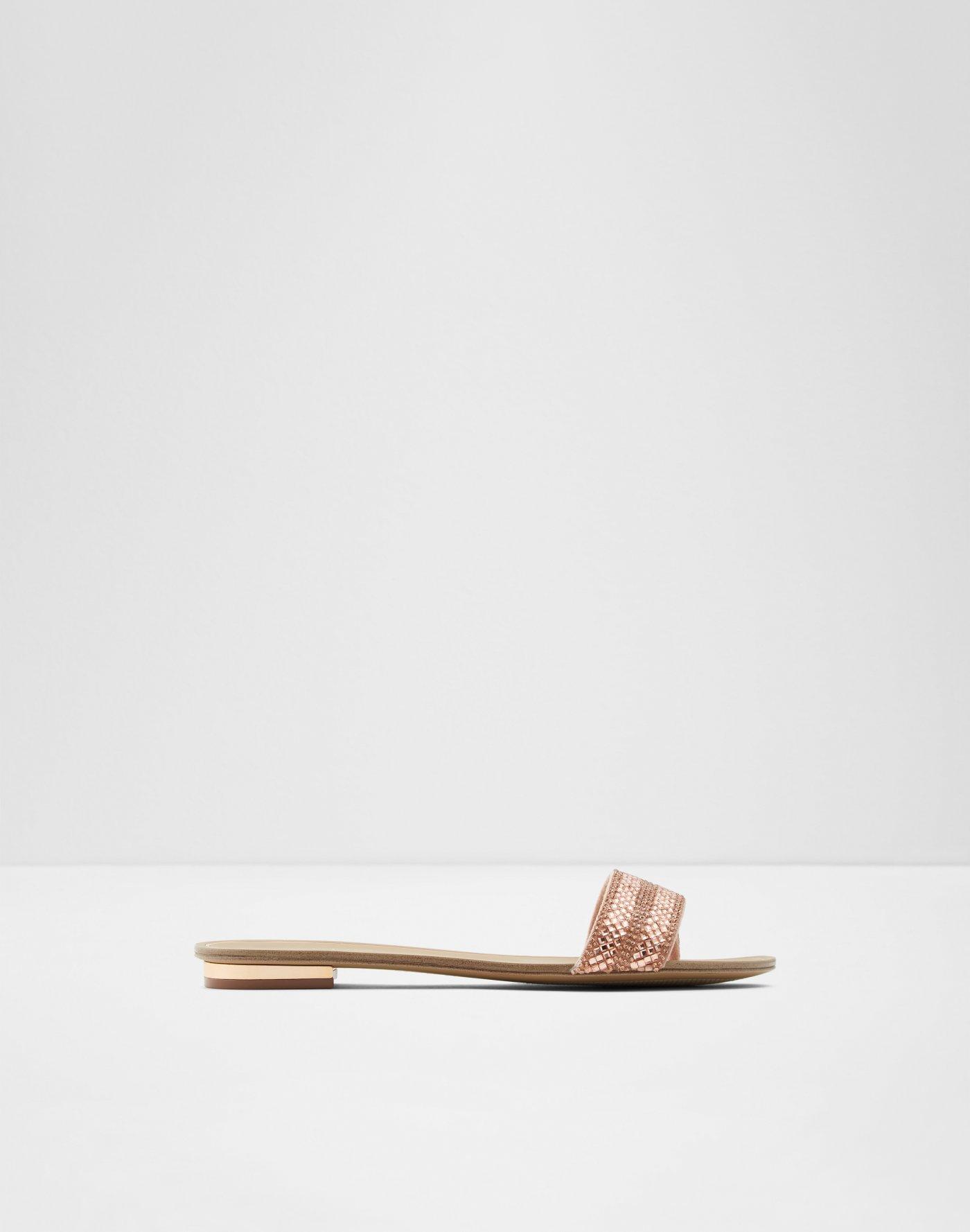 809f3591e654 Aldo sandals flat