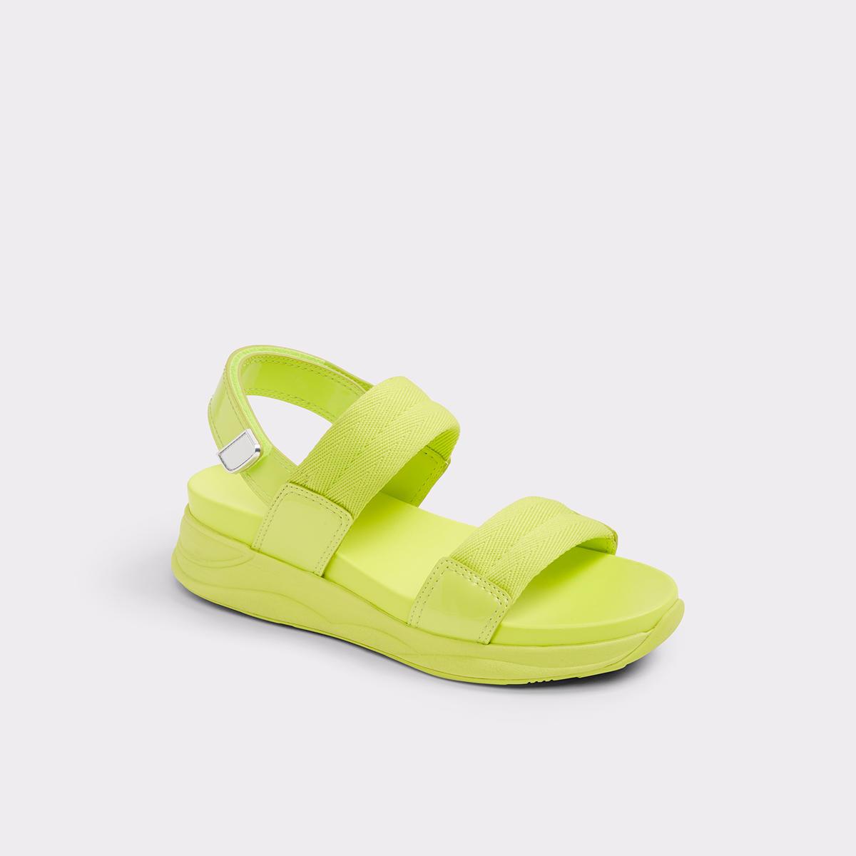 f3912ecb17b4 Eloima Light Yellow Women s Flats