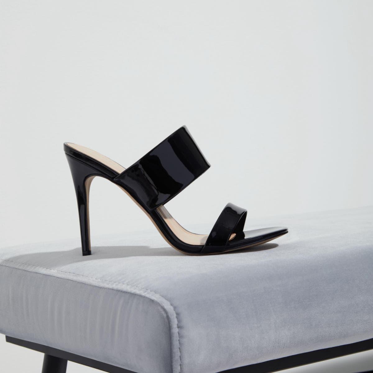 532f472ba55 Froema Black Patent Women s Mules