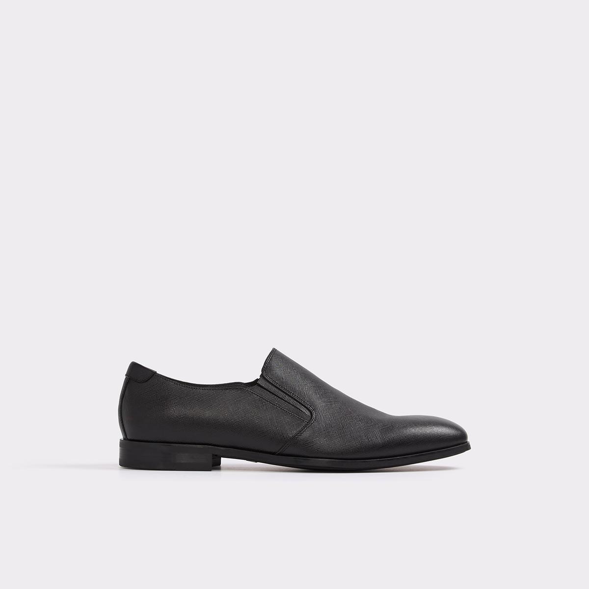 New Aldo Jesper Leather Black Loafers for Men Sale Online