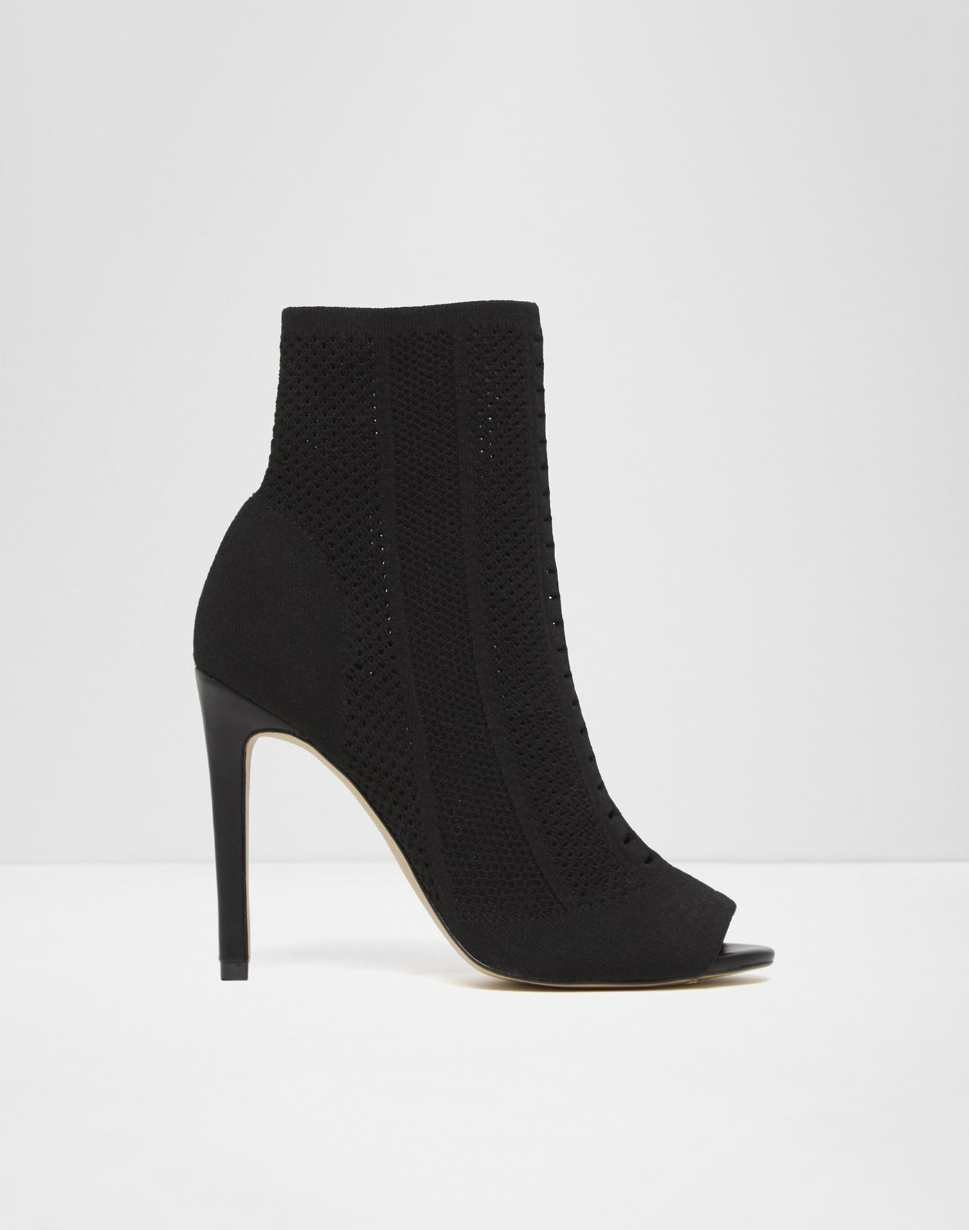 Womens Aldo Keira Boots Black Leather DYF59173