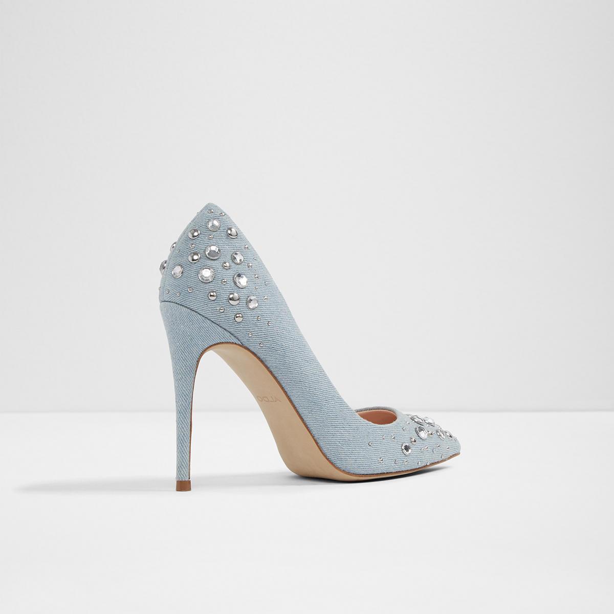 82069e4dc94 Aldo Shoes Jeweled Aldo Heels Size 9 Color Tan Size 9 in
