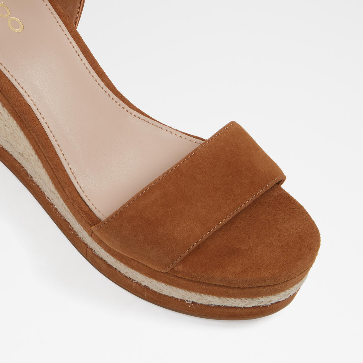 2420bb6dbcce Laledith Brown Suede Women s Wedges