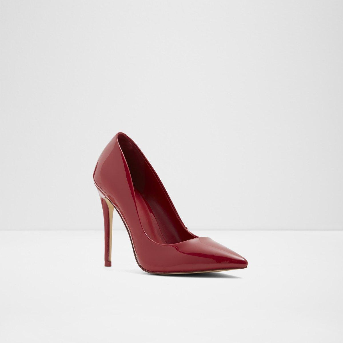 304f45bd29ee Laralilla Red Nubuck Women s Heels