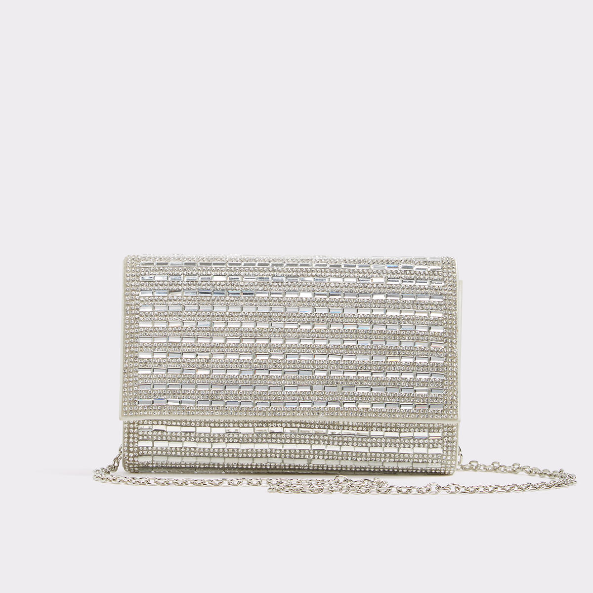Larilan Silver Women's Clutches & evening | ALDO US at Aldo Shoes in Victor, NY | Tuggl