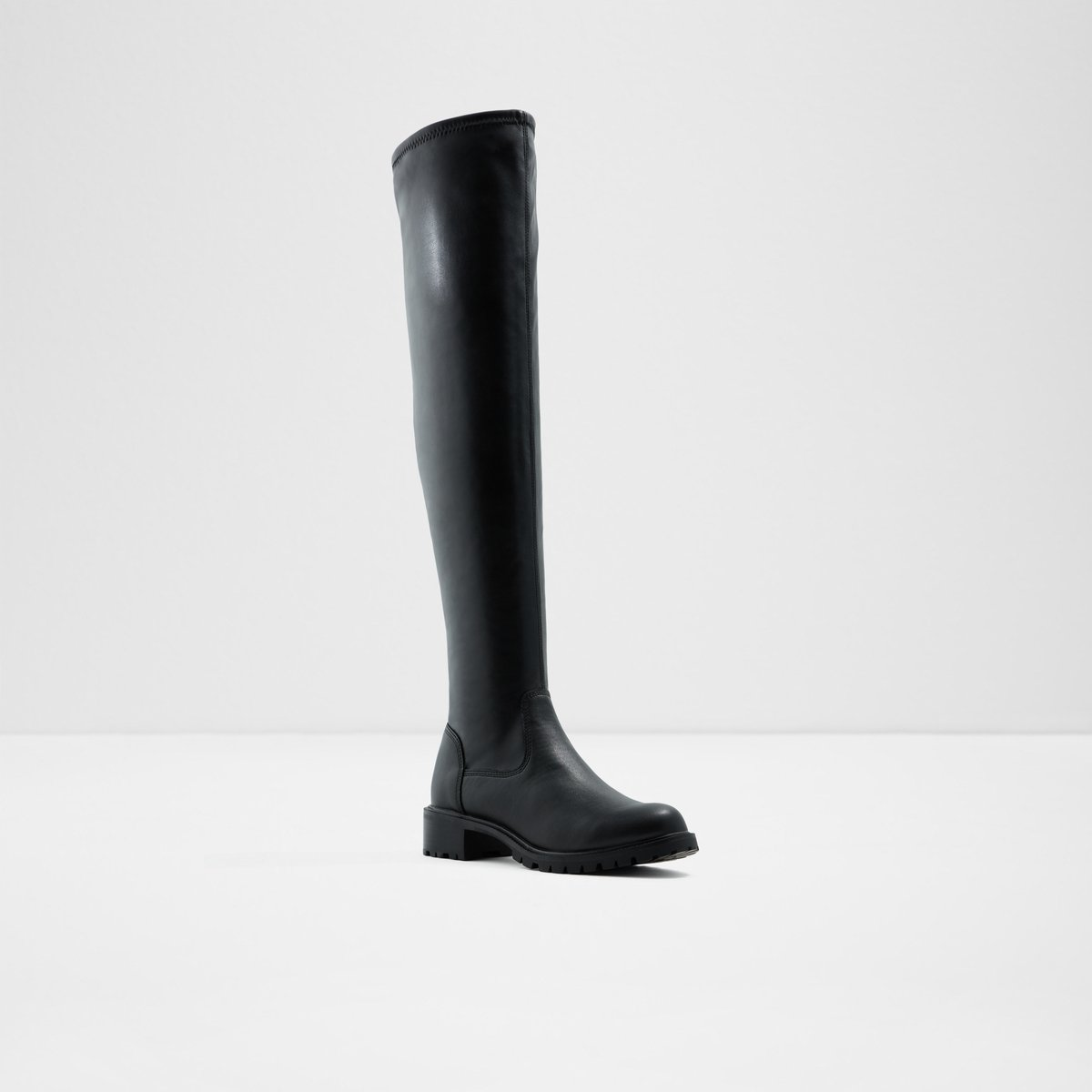 9fb2d37337c Laruria Black Women s Over-the-knee boots