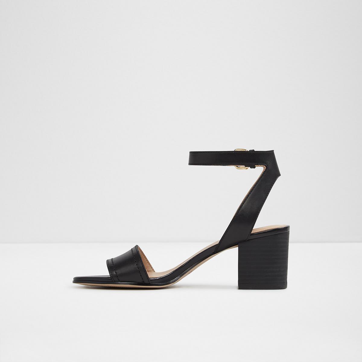 Sandales Avec Ceinture Noire Lolla Aldo JaxFWZSTB