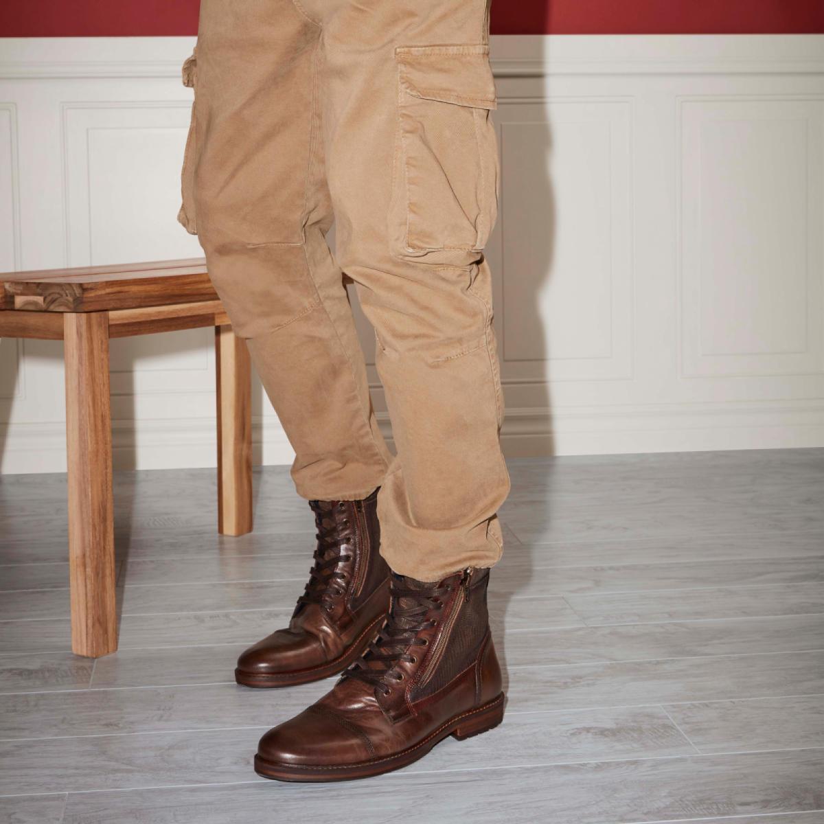 Us Cognac Lucio Men's Casual Boots wxpqzxYS0