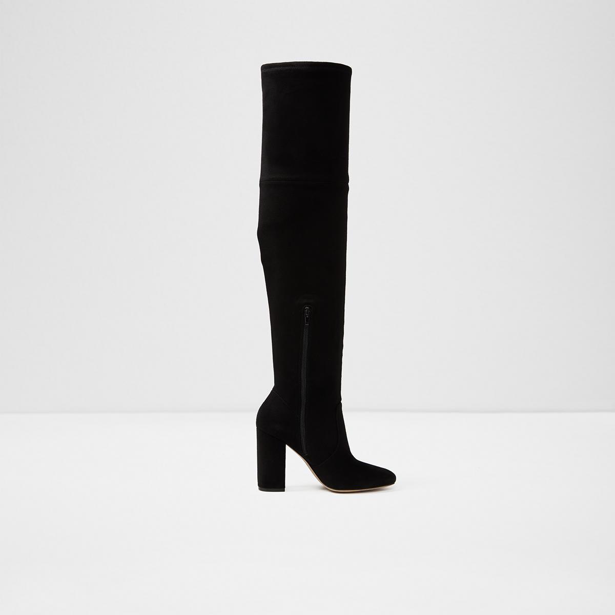 18e46a6da1d Maede Midnight Black Women s Over-the-knee boots