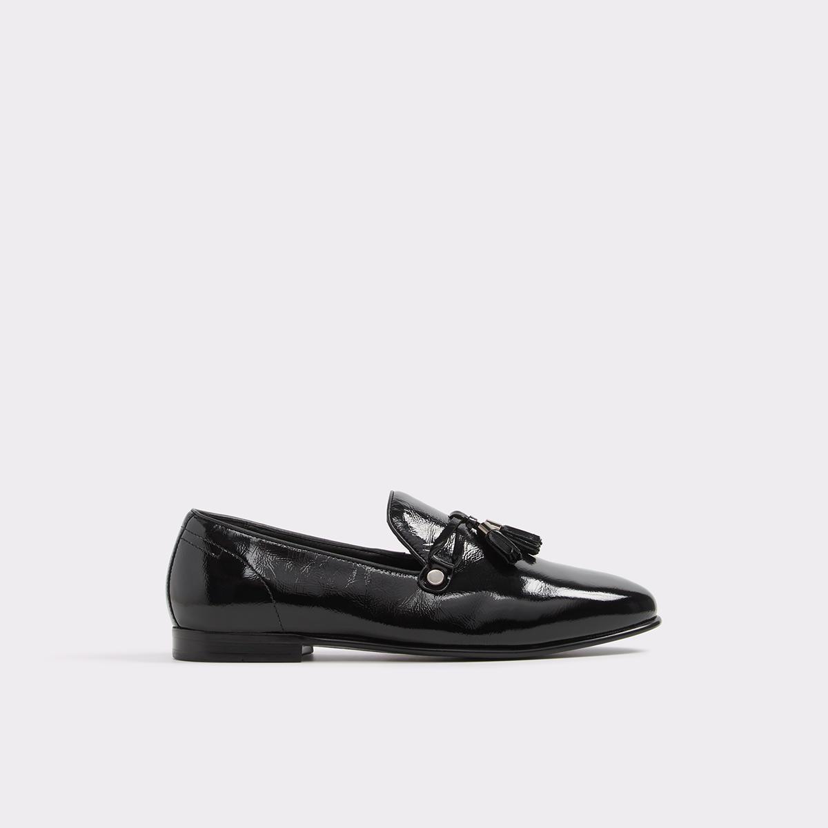 Mccrery Black Patent Men's Loafers | ALDO US at Aldo Shoes in Victor, NY | Tuggl