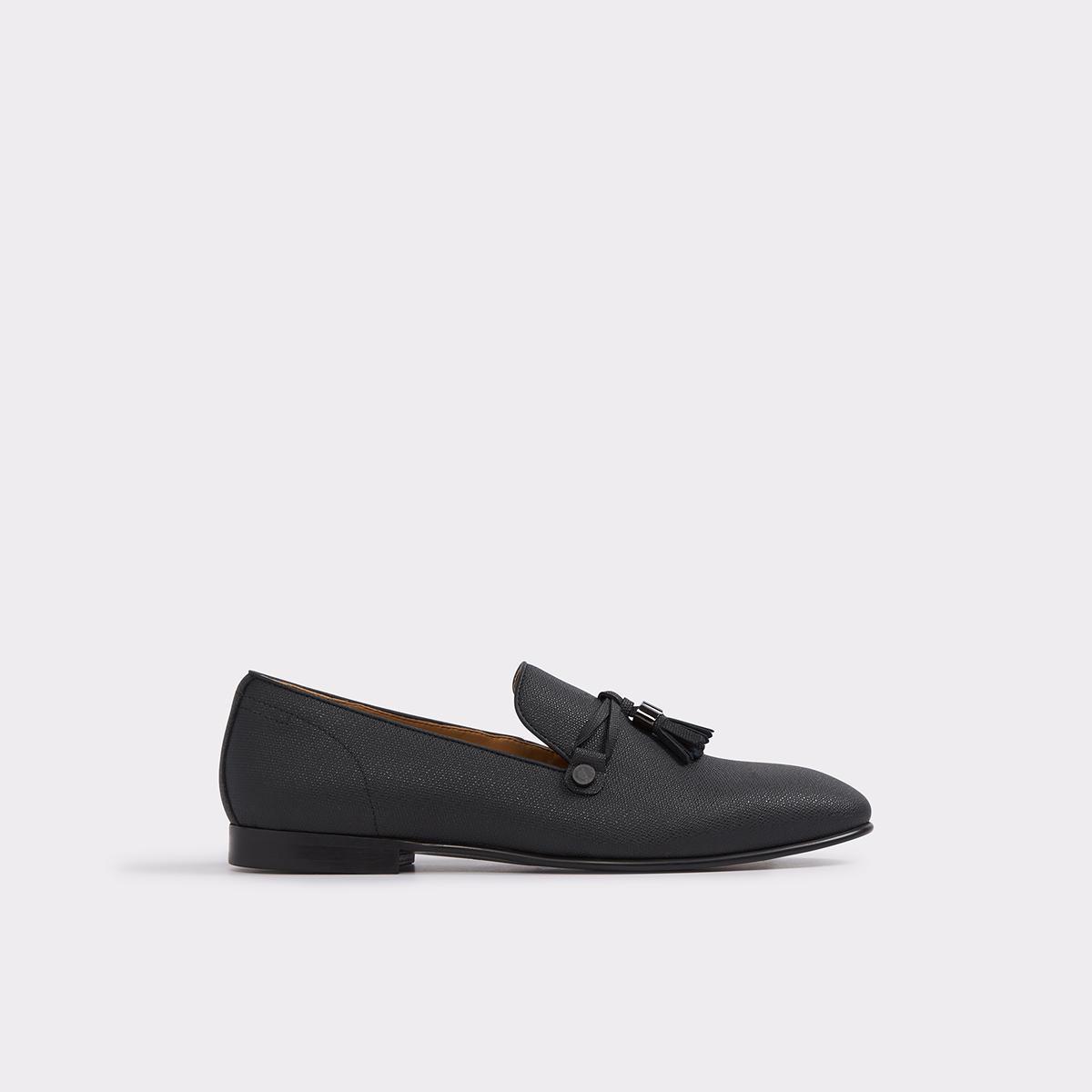 Mccrery Midnight Black Men's Loafers | ALDO US at Aldo Shoes in Victor, NY | Tuggl