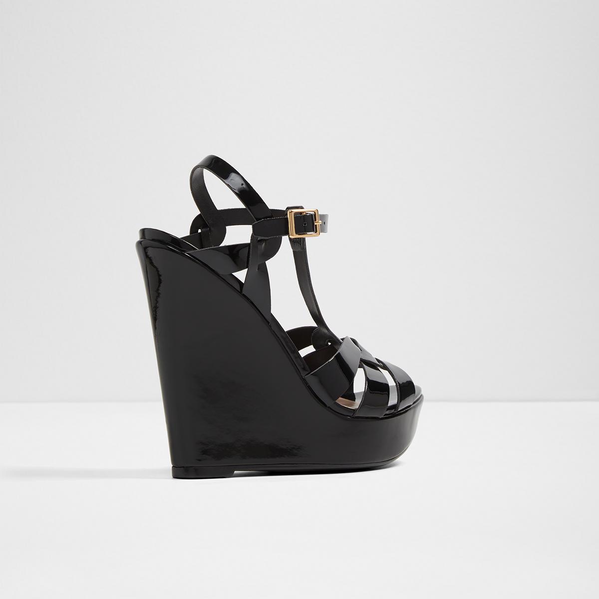 ALDO NELLYY - High heeled sandals - black UaEO1YA
