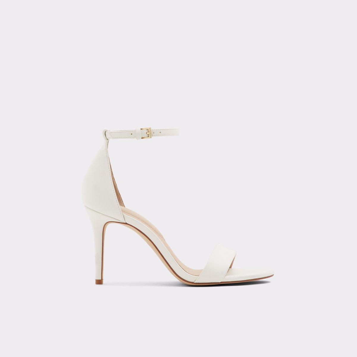 5e573845124 Piliria White Women s Dress heels
