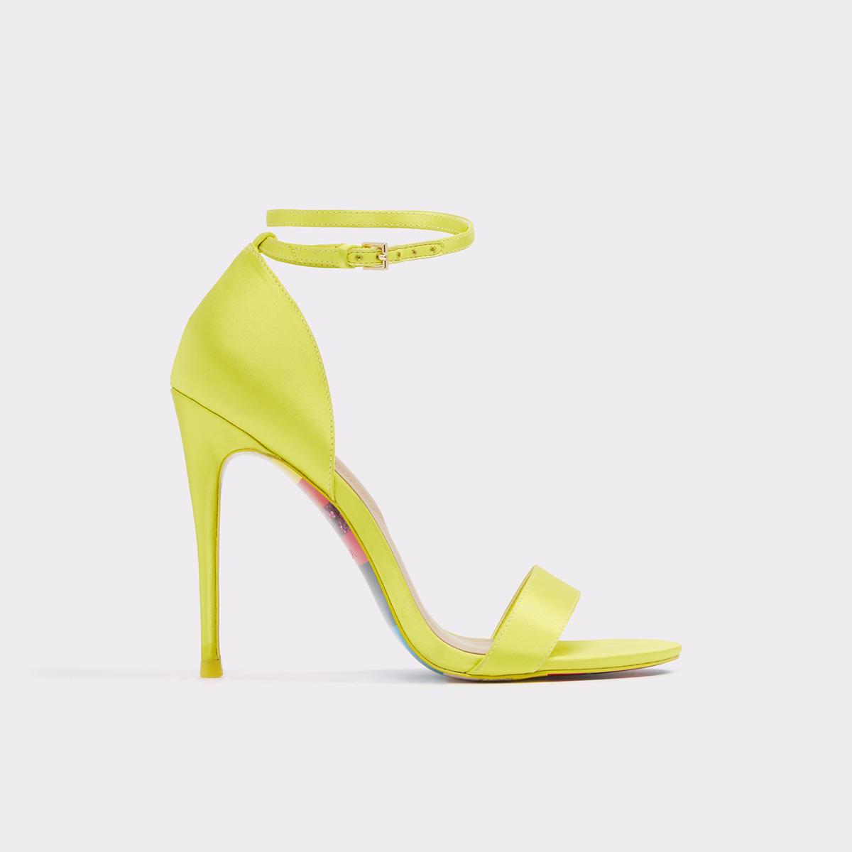 1da4889e767 Sandyy Light Yellow Women s Heels