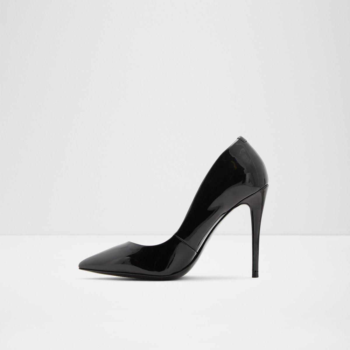 e82551f4ee0 Stessy  Black Patent Women s Heels