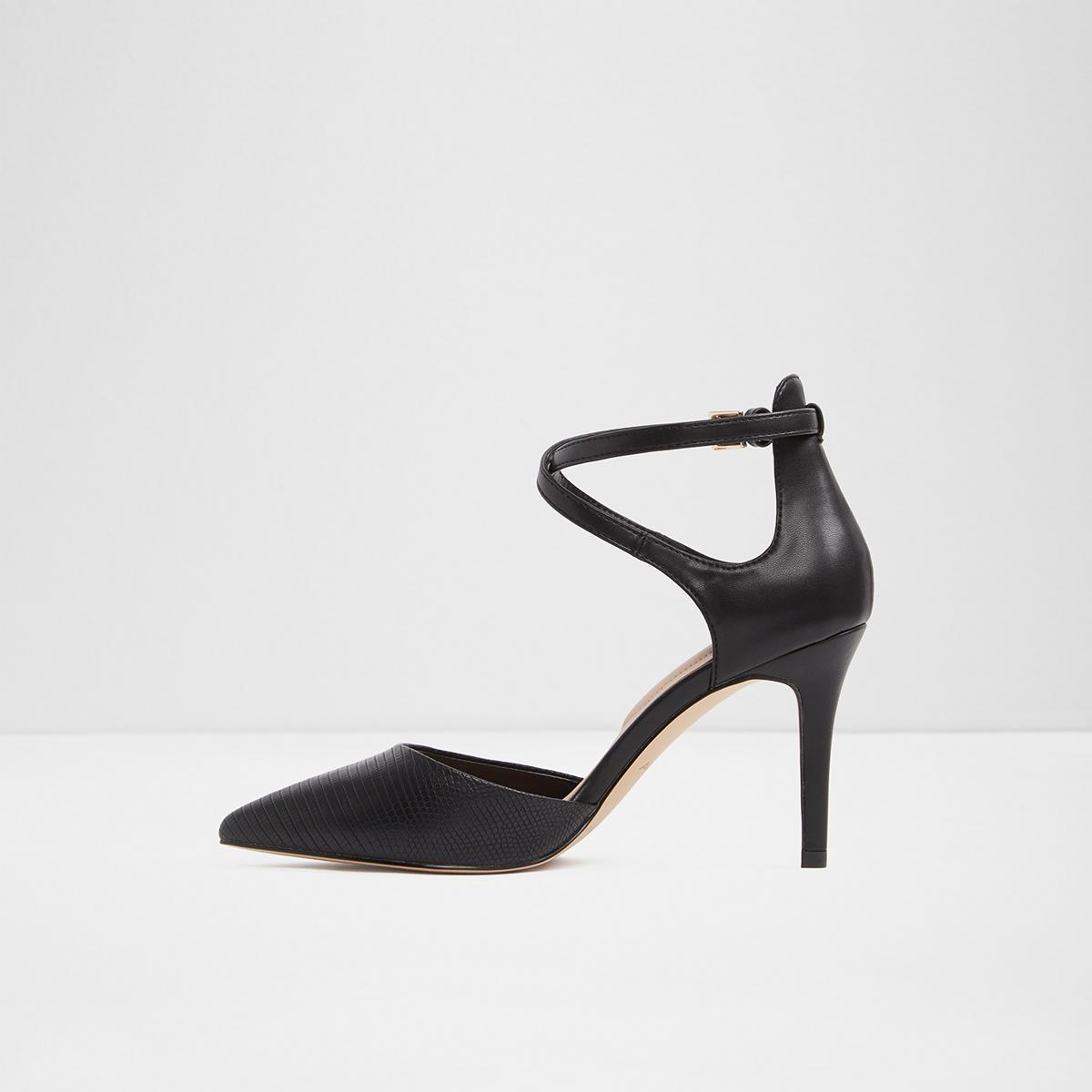 4c4f274c56 Thaecia Black Women s Heels