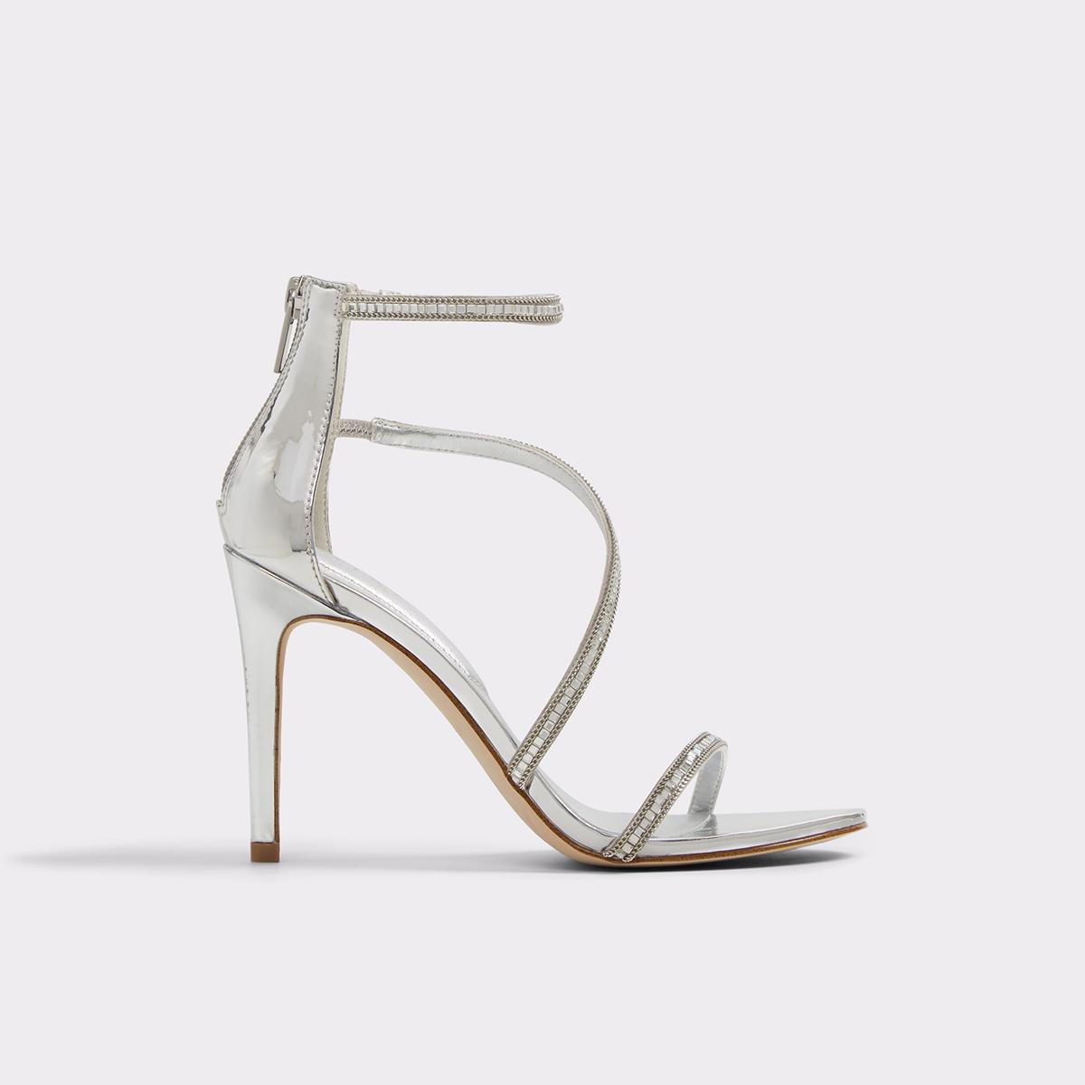 ALDO Umude Bling Jeweled Strappy Dress Sandals XMCYJ