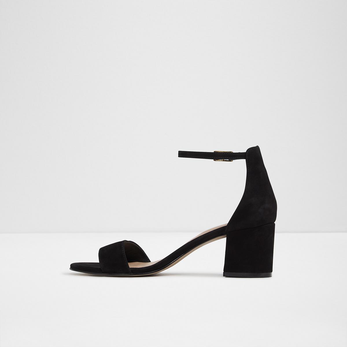 cc3289904db Villarosaw Black Nubuck Women s Low-mid heels