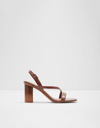 알도 샌들 ALDO Adiemwen Medium Red Womens Block heels