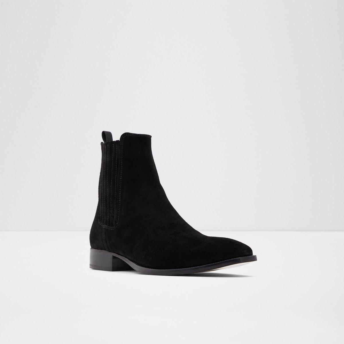 Agriracien Black Men's Casual boots