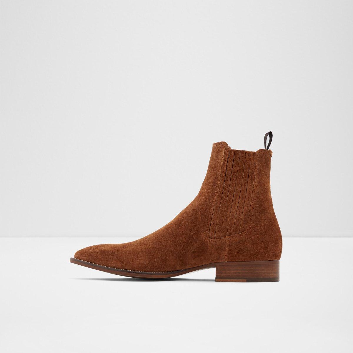 Agriracien Cognac Men S Chelsea Boots Aldoshoes Com Us