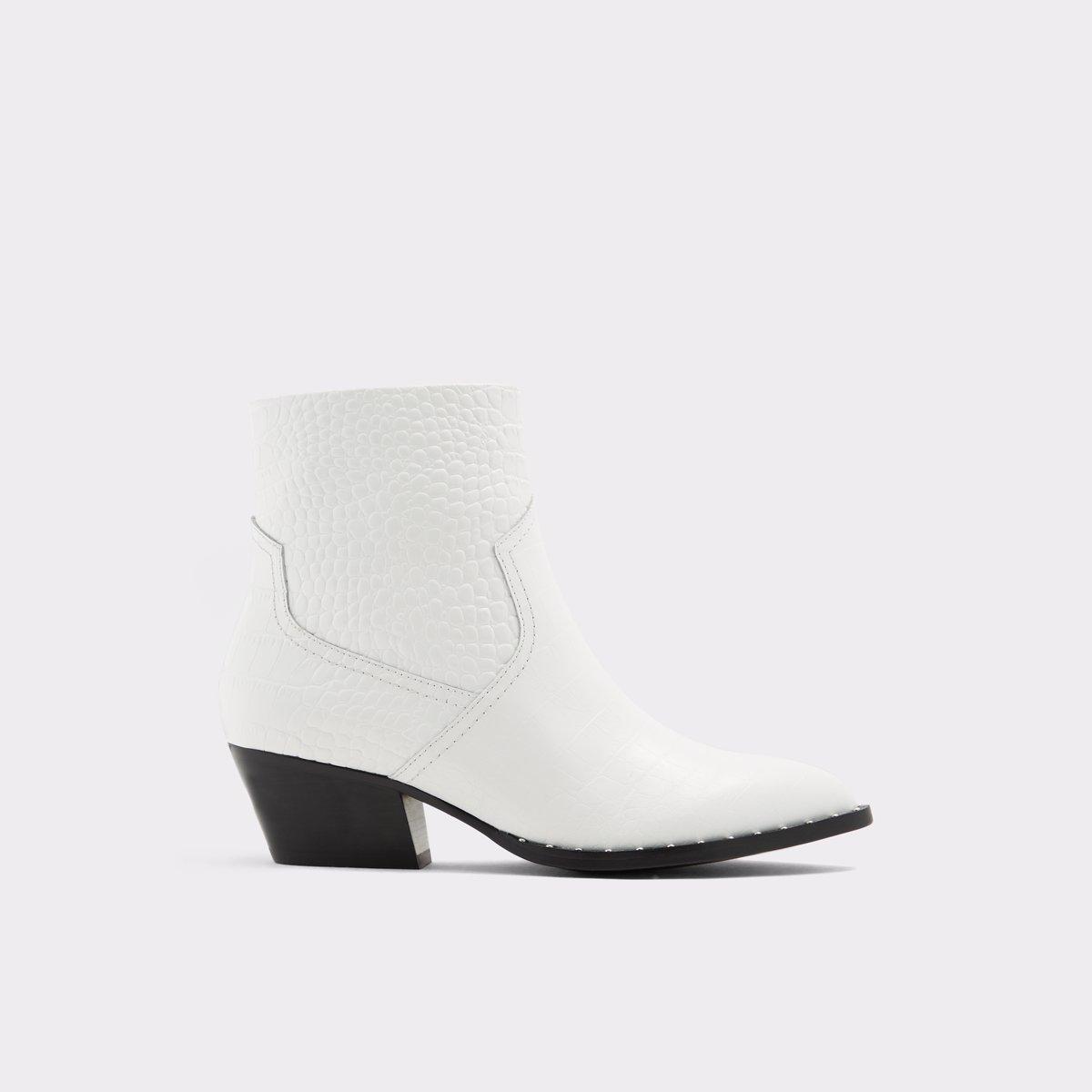 Agroacia White Women's Boots   ALDO US