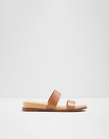알도 ALDO Slide sandal Aliawen,Cognac