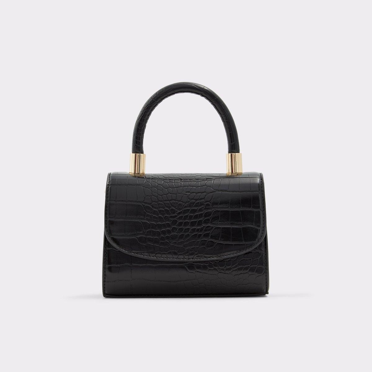 Amza Black Women S Top Handle Bags