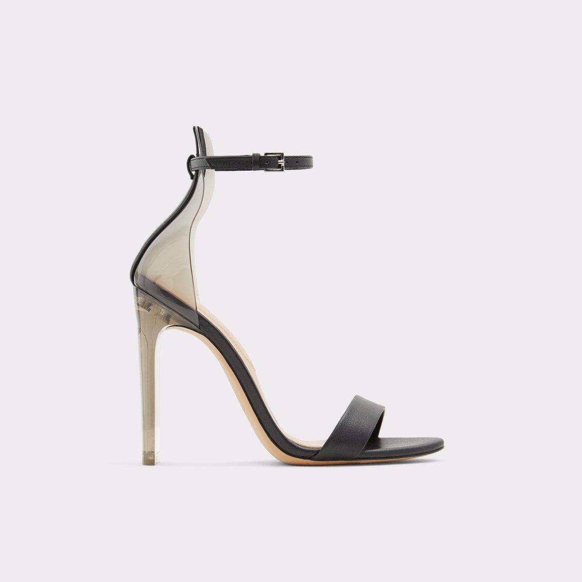 Aserania Black Women's Heeled sandals